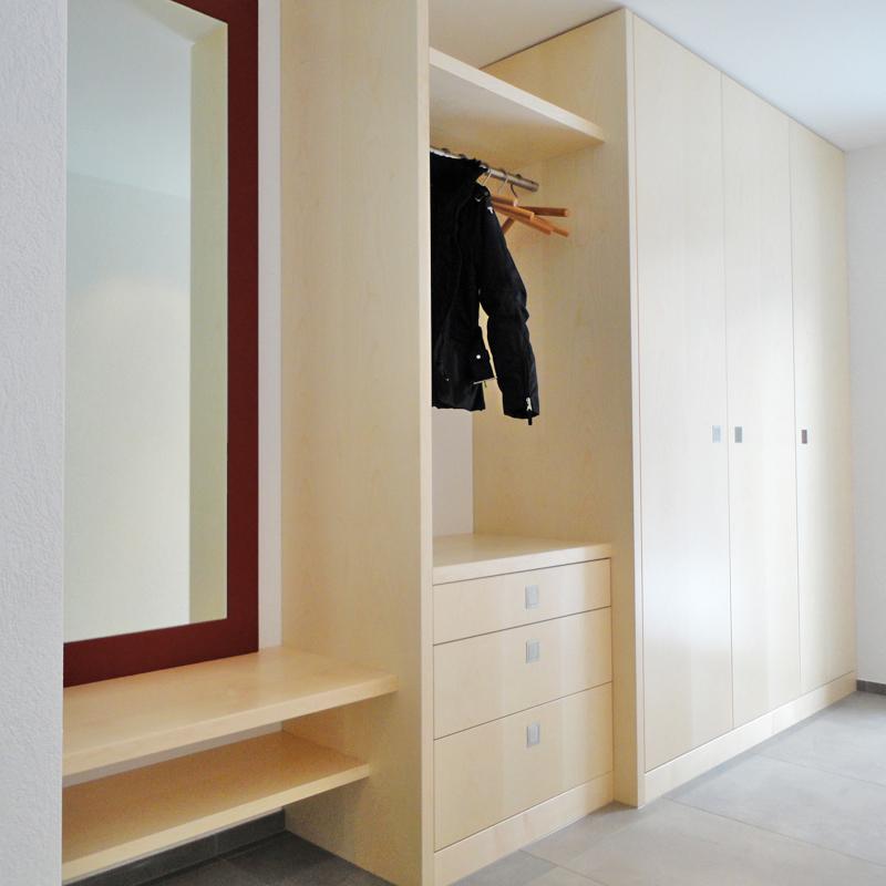 garderoben der blickfang der f r ordnung sorgt schreinerei t di ag. Black Bedroom Furniture Sets. Home Design Ideas