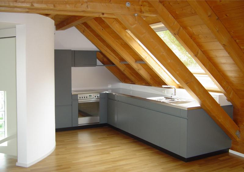 Elegant Kleine Kuche Mit Dachschrage Ihr Traumhaus Ideen